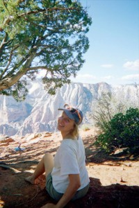 Livvy Feeney in her Natural Habitat