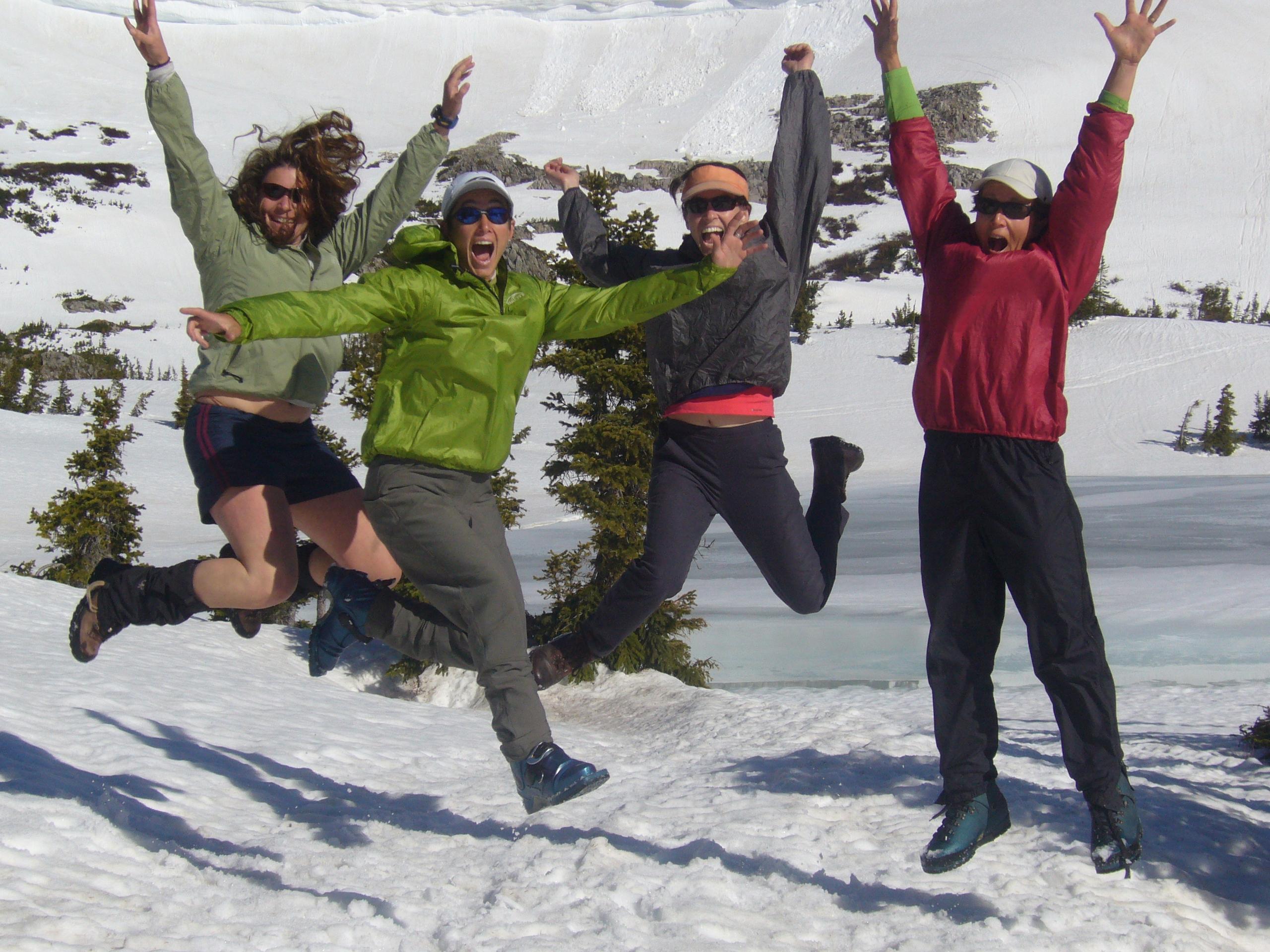 women-jump