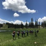 Girls Backpacking in Colorado