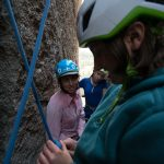 Girls climbing camp vedawoo