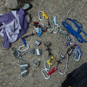 Trad Climbing Gear