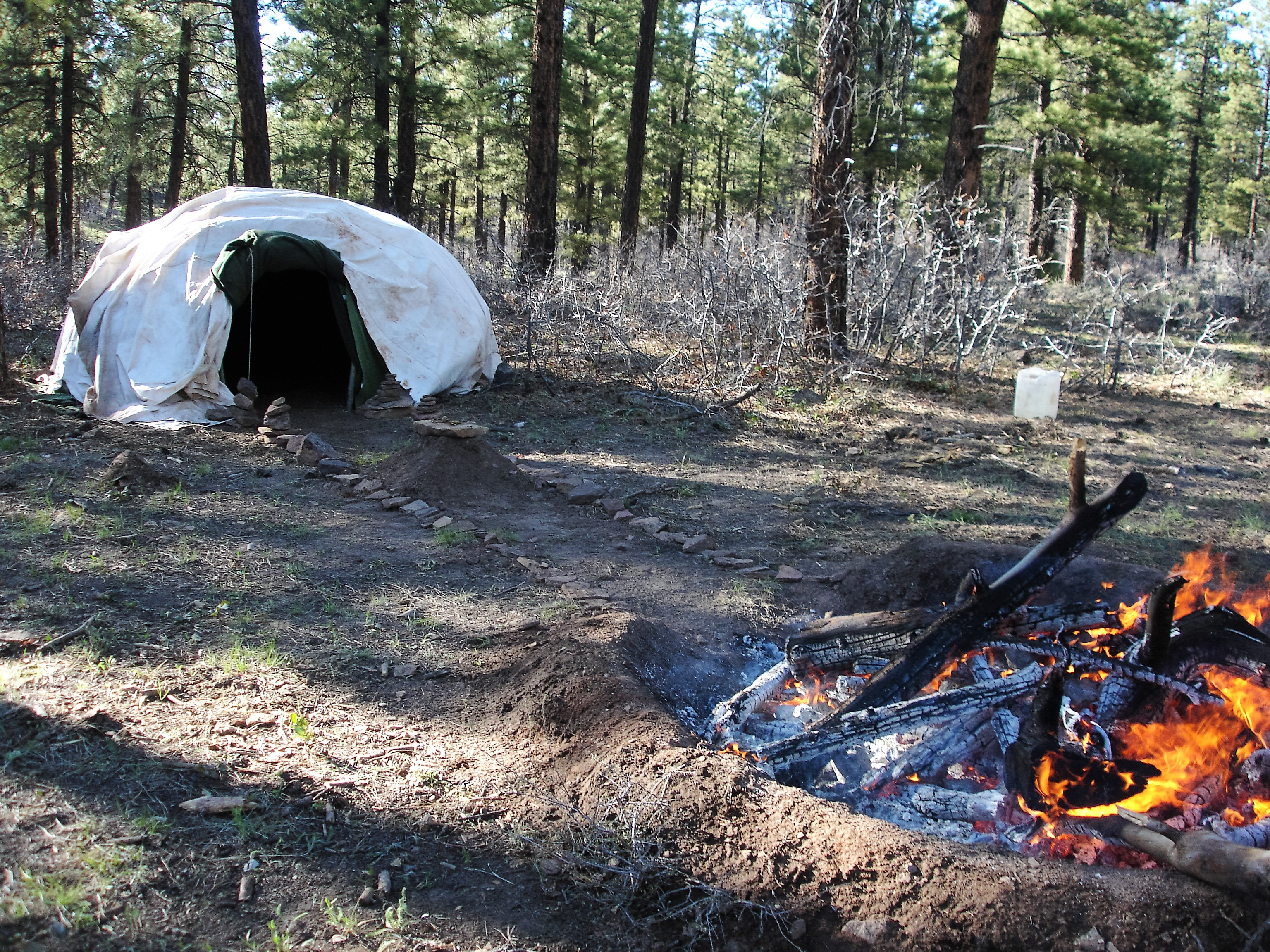 shelters and fire