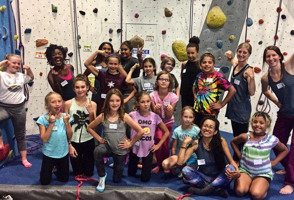 Girls After School Climbing Program