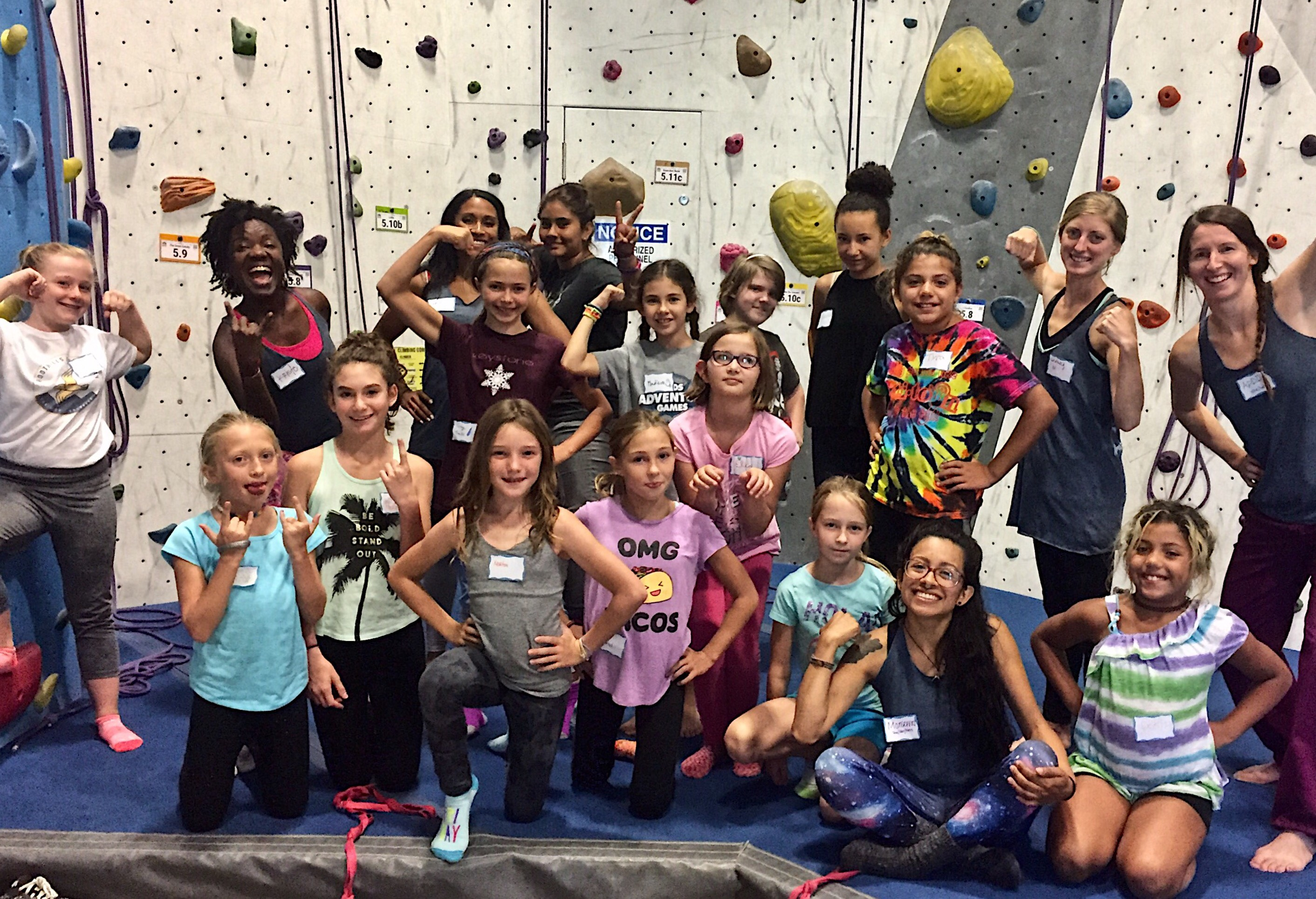 Girls After School Climbing Program