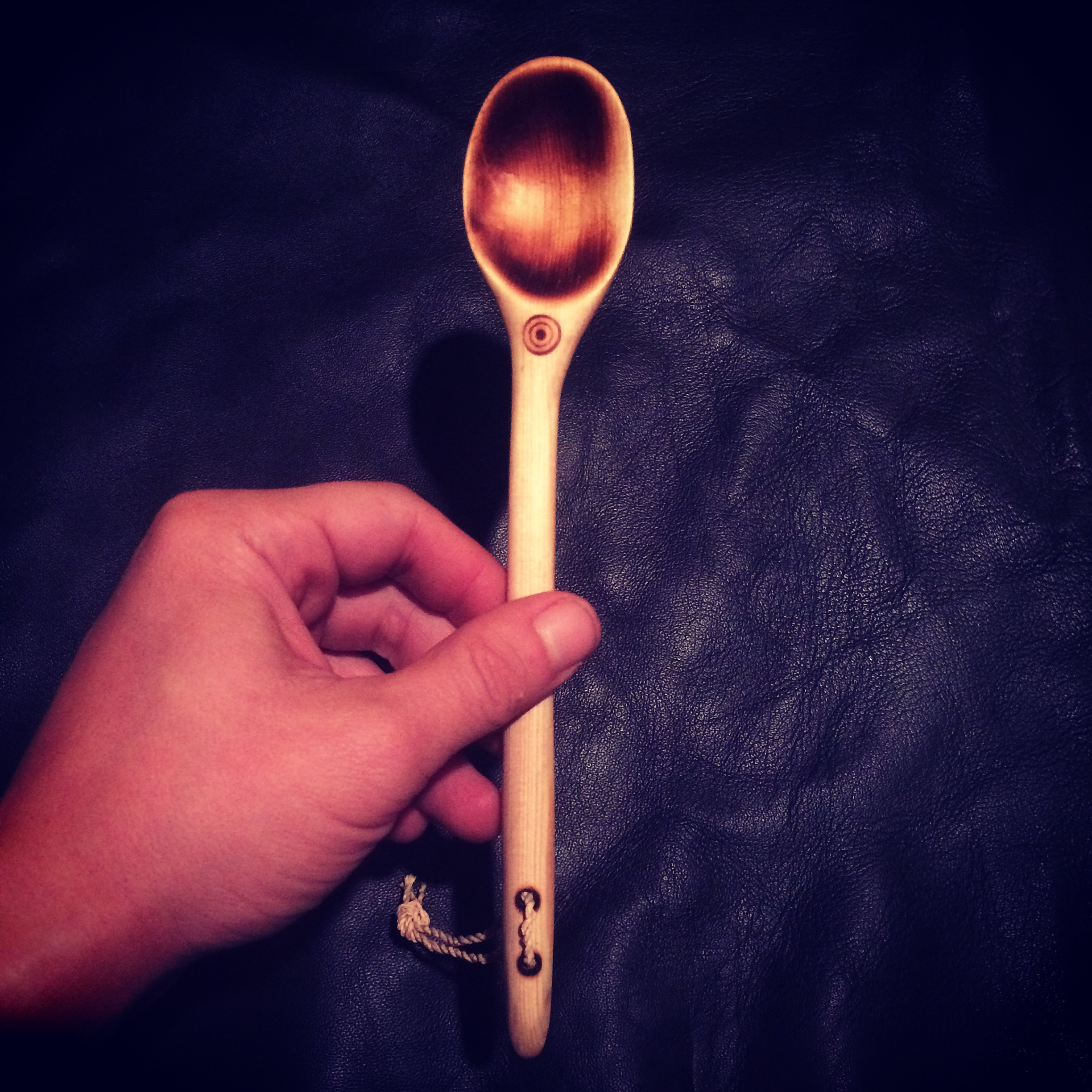 Coal Burned Spoon