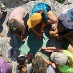 Group dynamics at adventure camp