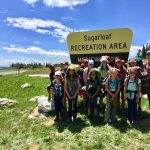 backpacking on adventure camp