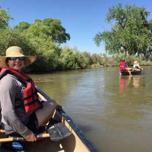 Paddling the St. Vrain
