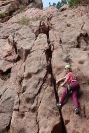 middle school climbing